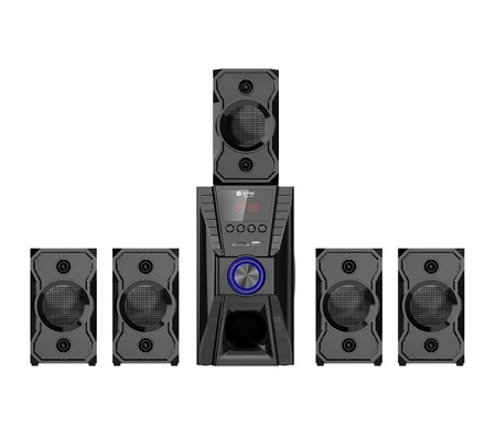 Amtec 5.1ch SUBWOOFER HOMETHEATRE HI-FI/FM/BT/USB/-BLACK