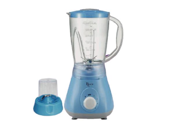 ROCH RBL-115-C Blender & Grinder 1.5 Litres, 400W/500W - Blue