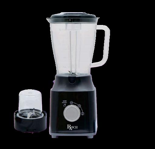 ROCH RBL-119-C Blender & Grinder 1.5 Litres, 400W/500W - Black