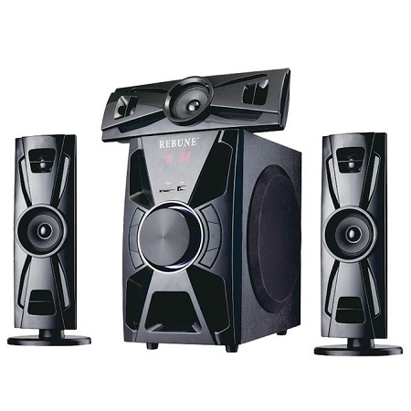 Rebune Multimedia Speaker System, 60W- RE-15-004 5.1