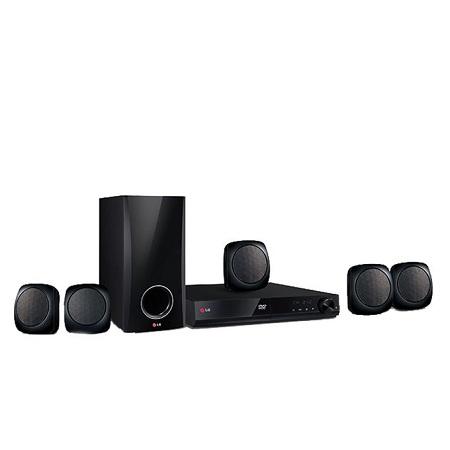 LG 330W DVD HOME THEATRE SYSTEM, 5.1CH, LHD427– Black