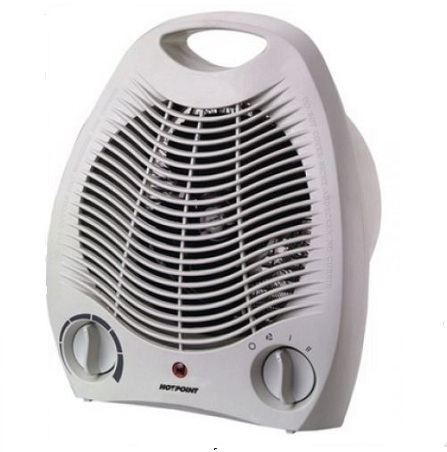 Mika MH101 - Fan Heater, 1500W - White.