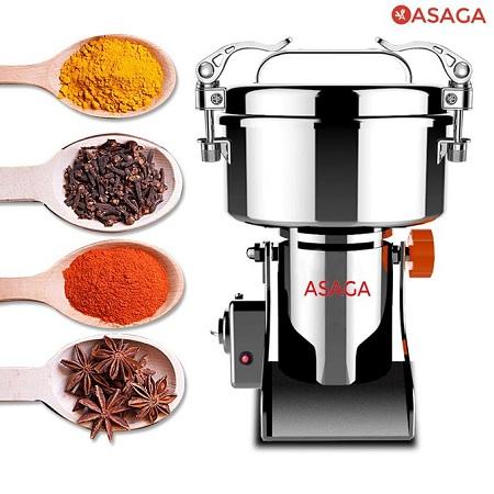 Asaga Dry Food Grinder 400g Standard Model: Grinds Cereals, Etc.