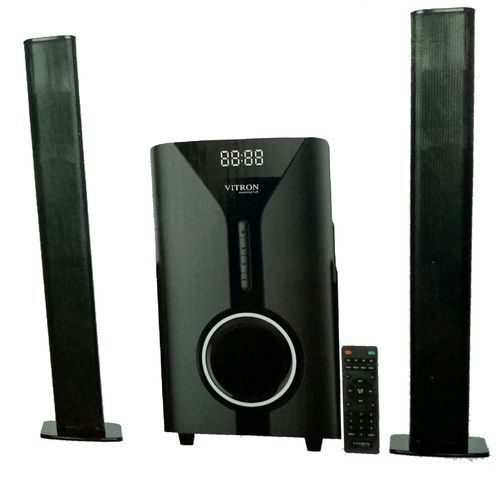 Vitron 527 MULTIMEDIA SYSTEM FM,USB,BT 9000Watts-Black With 2speakers