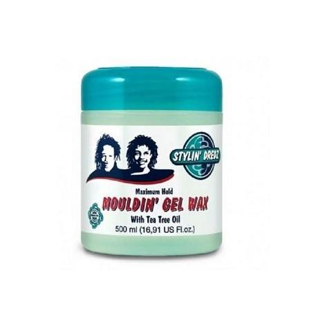 Stylin' Dredz Maximum Hold Mouldin' Gel Wax 500ml