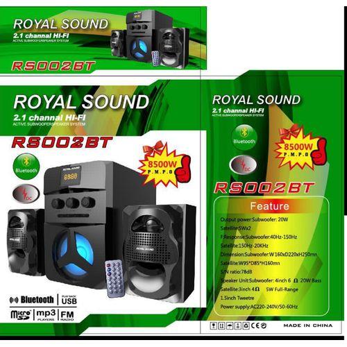 ROYAL SOUND 2.1 CH-BLUETOOTH-8500W USB/FM
