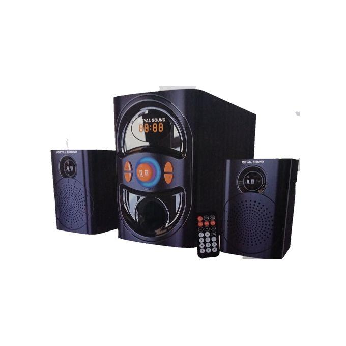 Royal Sound 2.1CH RS004 Subwoofer- Bluetooth,FM,AC/DC,USB/SD.