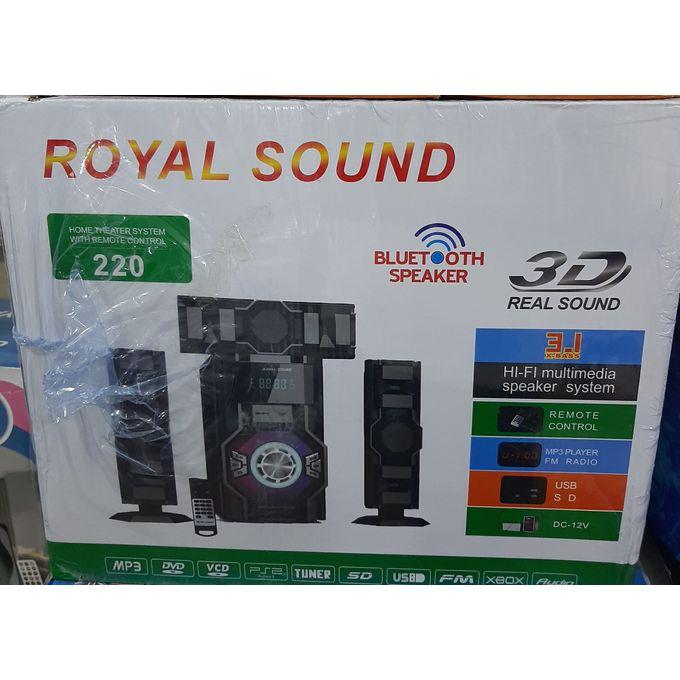 Royal Sound 220 3.1Ch Sound System BT/USB/SD/FM