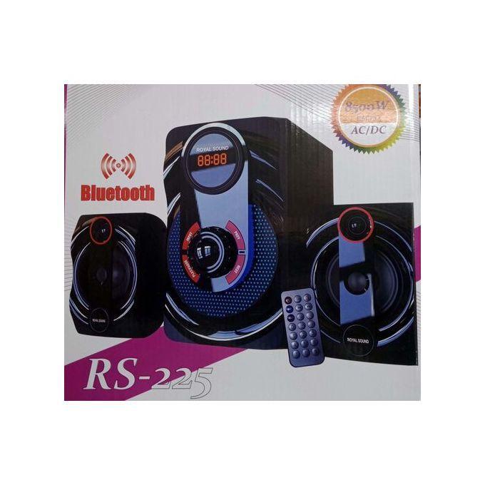 Royal Sound Subwoofer,Hitech MultiMedia BT-FM-USB-RS 225