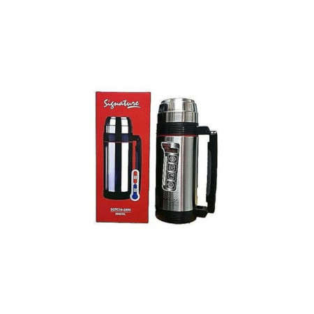 Signature 1.8 Litres High quality Unbreakable Thermos Vacuum flask