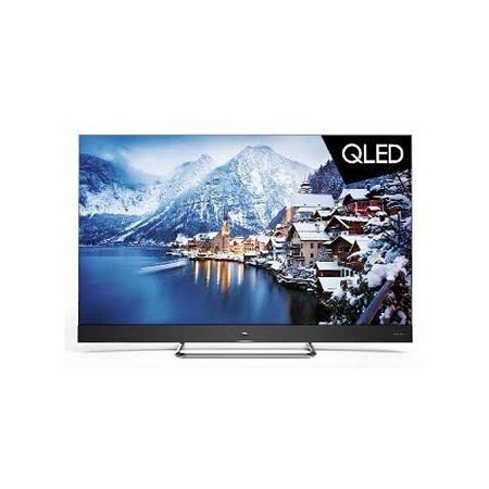 TCL 55 Inch 4K Ultra HD QLED Android TV, ONKYO Soundbar Youtube C815-Black