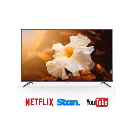 TCL 55 Inch 4K ULTRA HD Android TV 4K HDR, Bluetooth Black