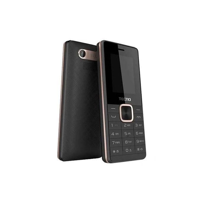 Tecno T301 - Dual Sim, FM, BT, Torch - Black With Memory Card Slot Upto 32 GB.
