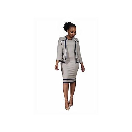 Generic Official Dress Suit - Beige