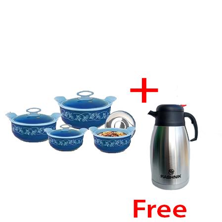 Buy Rashnik High Quality Hotpots and get 2L Flask Free