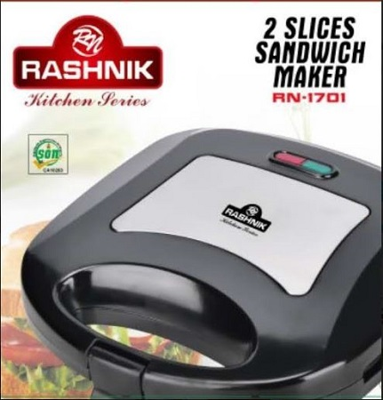 Rashnik RN-1701 2 Slice Sandwich Maker