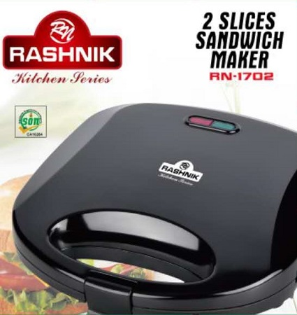 Rashnik RN-1702 2 Slice Sandwich Maker