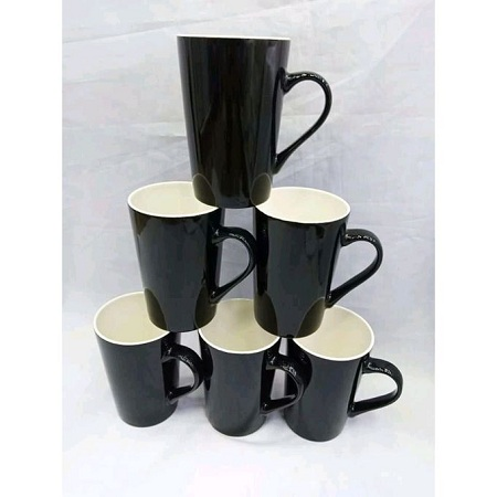 Classic Kitchenware Beautiful Mugs/Cups For Tea/Coffee-Set(6)
