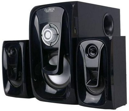 Clubox IC-5206 Speaker System 40W - Black