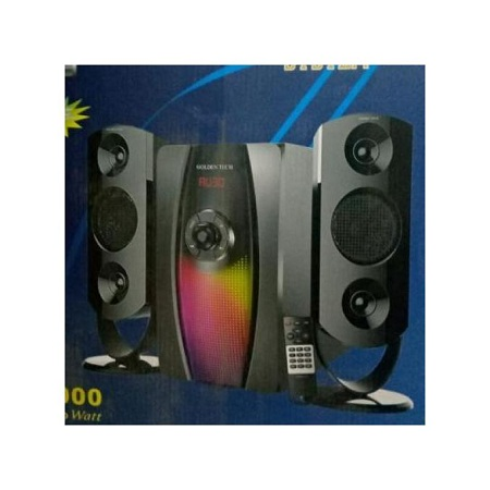 Golden Tech 10,000 Watts With BT-USB-SUBWOOFER SYSTEM-FM RADIO