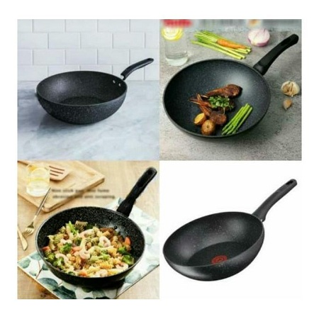 Granite Deep Frying Pan