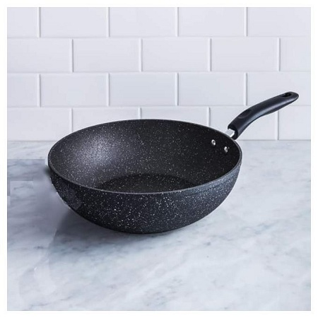Granite Heavy Deep Frying Pan