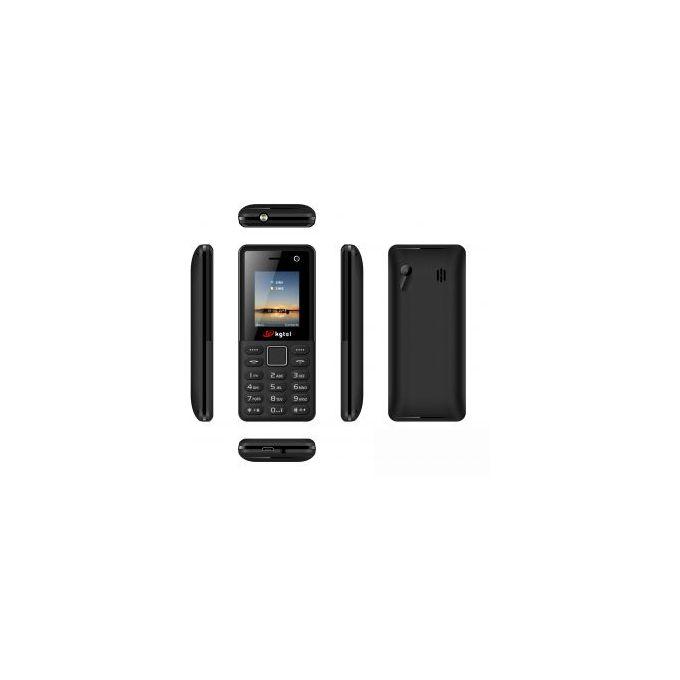 Kgtel K301 Wireless Fm Support- Dual Sim - Black KABAMBE