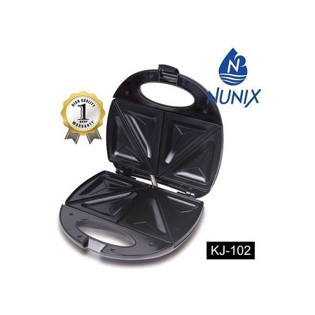 Nunix KJ-102 - Sandwich Maker - Black