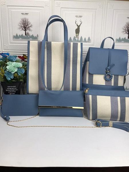 5 In 1 Classy Designs  Women Handbag
