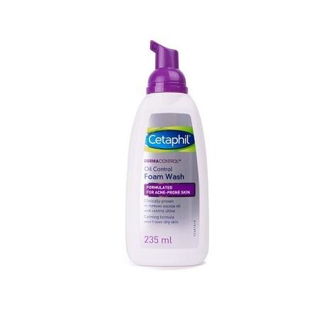Cetaphil Dermacontrol Foam Wash - 235 ml