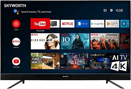 Skyworth 43E20 Full HD Android Smart TV