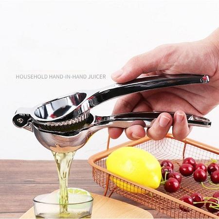 Stainless Steel Lemon Clip Fruit Juice Pressing Tool