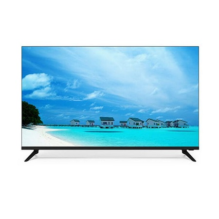 Vision Plus 50 Inch Frame less 4K UHD Smart Android TV - Black