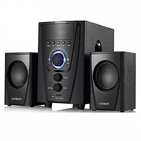 Vitron SUBWOOFER WITH BOOMING BASS, BLUETOOTH AC/DC 2000W