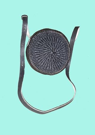 Handmade sisal sling bag