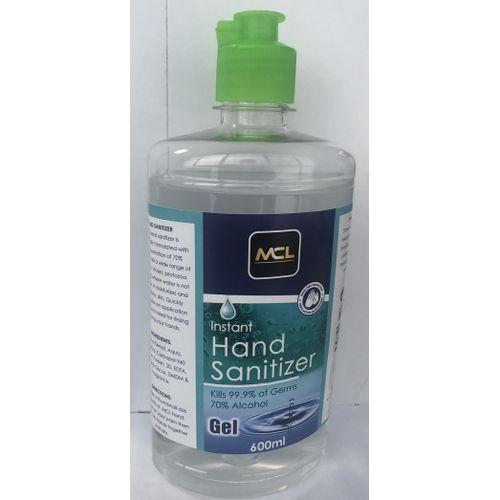 Mcl Instant Hand Sanitizer Gel 600ml