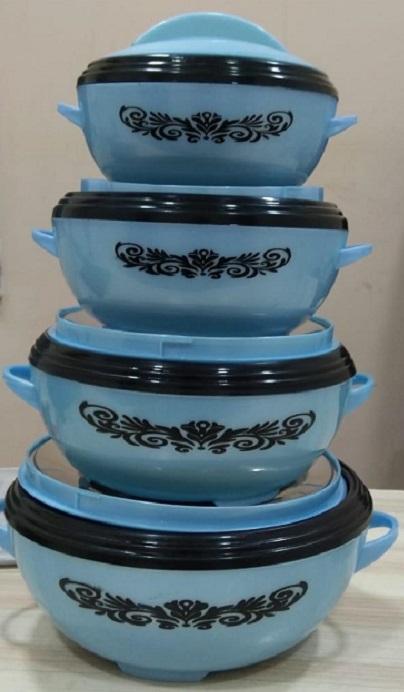 4pcs Set of Elegant Selmax Hotpots - With a Serving Spoon