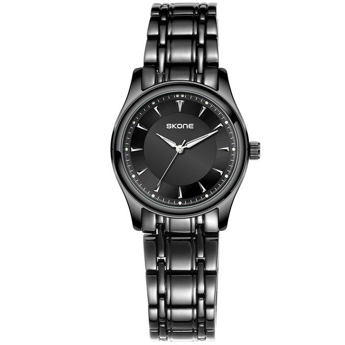 Skone Black Touch Wrist Watch