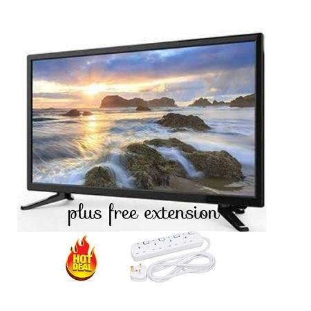 CTC 22 Inch Digital LED TV- Free To Air, USB, VGA, RCA, AUX+ Extension