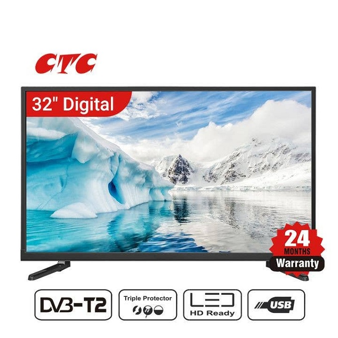 CTC TV 24 Inch HDMI and USB Port