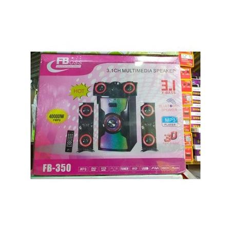 Fboss 3.1 40000W Subwoofer Speaker(Bluetooth, USB, Fm)