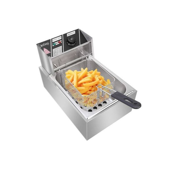 Generic Commercial Stainless Steel Electric Deep Fryer 6 Litres