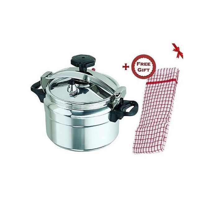 Generic Pressure Cooker - Explosion Proof - 5 Litres + a FREE Gift Hand Towel