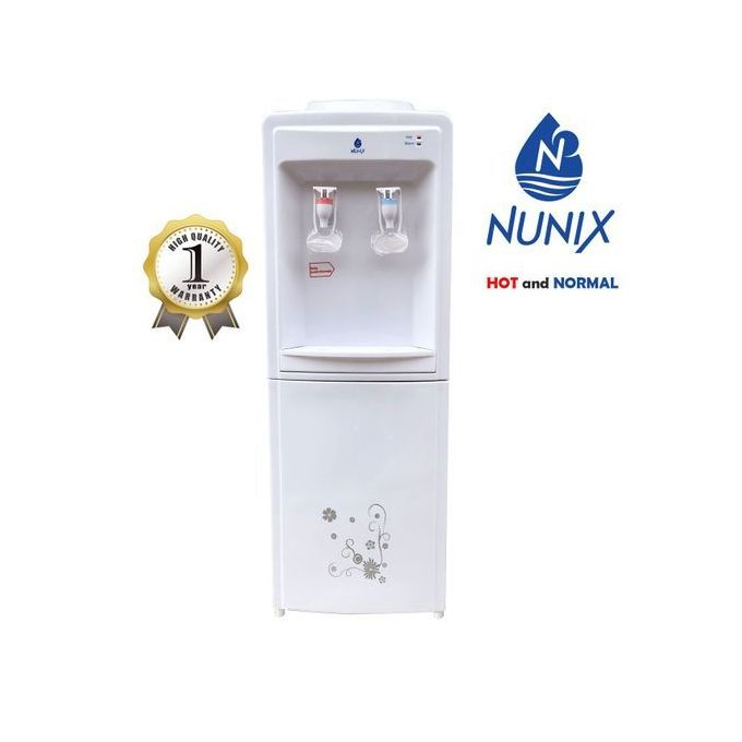 Nunix Hot And Normal Standing Water Dispenser R5 - White