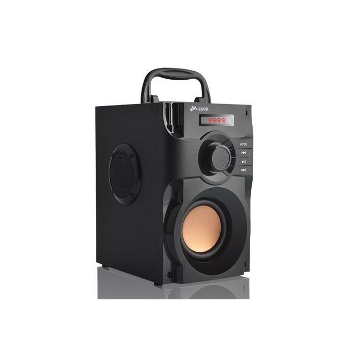 M Luck BLUETOOTH SUB Woofer :- FM RADIO, USB