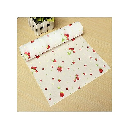Roll of anti-slip kitchen cupboard liner mat drawer liner table mat