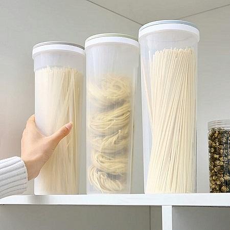 Clear Spaghetti Container
