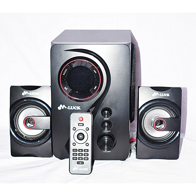 M Luck Bluetooth Woofer With FM, SD, TF and USB Support