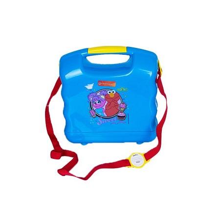 Technoplast Sesame Street Extra Sweet School Box Set (lunchbox, Water Bottle & Spoon/Fork)