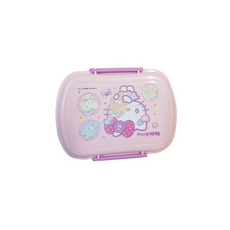 Hello Kitty Sealware Pink and Purple 800ml Lunch Box